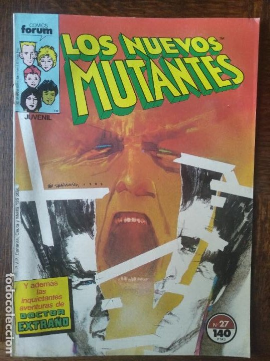 LOS NUEVOS MUTANTES V.1 Nº 27 - FORUM MARVEL COMICS - (Tebeos y Comics - Forum - Nuevos Mutantes)