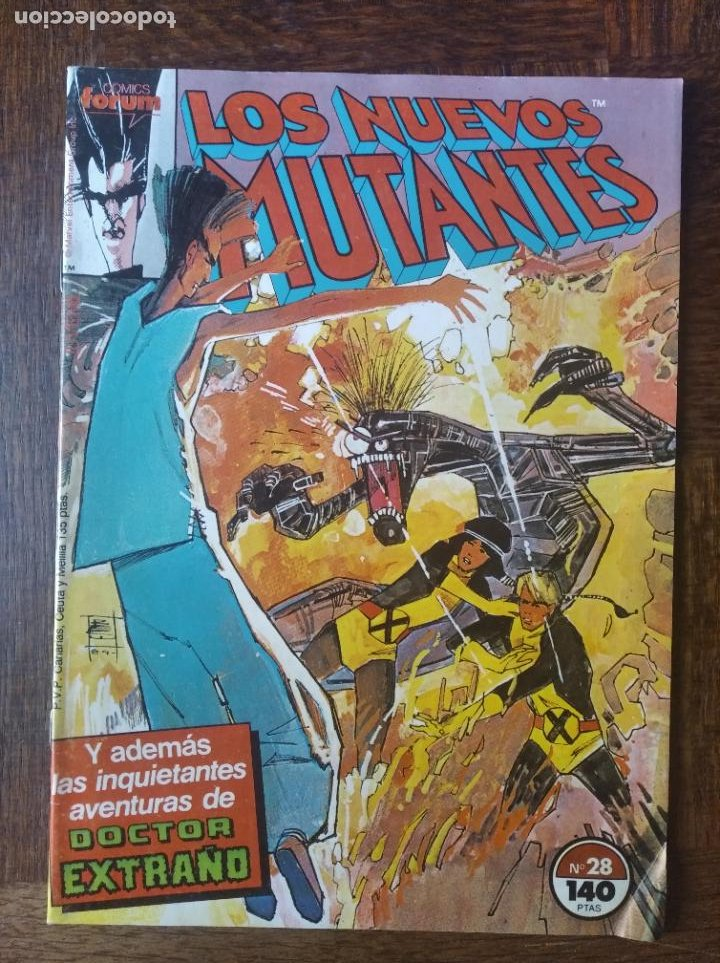 LOS NUEVOS MUTANTES V.1 Nº 28 - FORUM MARVEL COMICS - (Tebeos y Comics - Forum - Nuevos Mutantes)