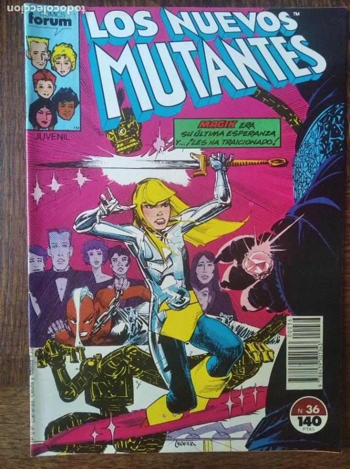 LOS NUEVOS MUTANTES V.1 Nº 36 - FORUM MARVEL COMICS - (Tebeos y Comics - Forum - Nuevos Mutantes)