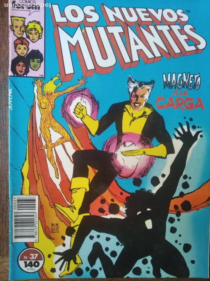 LOS NUEVOS MUTANTES V.1 Nº 37 - FORUM MARVEL COMICS - (Tebeos y Comics - Forum - Nuevos Mutantes)