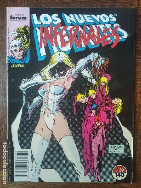 LOS NUEVOS MUTANTES V.1 Nº 39 - FORUM MARVEL COMICS - (Tebeos y Comics - Forum - Nuevos Mutantes)