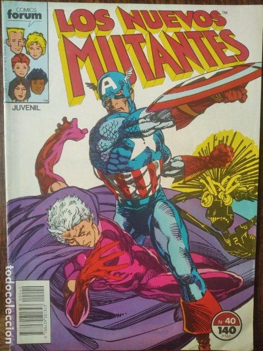 LOS NUEVOS MUTANTES V.1 Nº 40 - FORUM MARVEL COMICS - (Tebeos y Comics - Forum - Nuevos Mutantes)