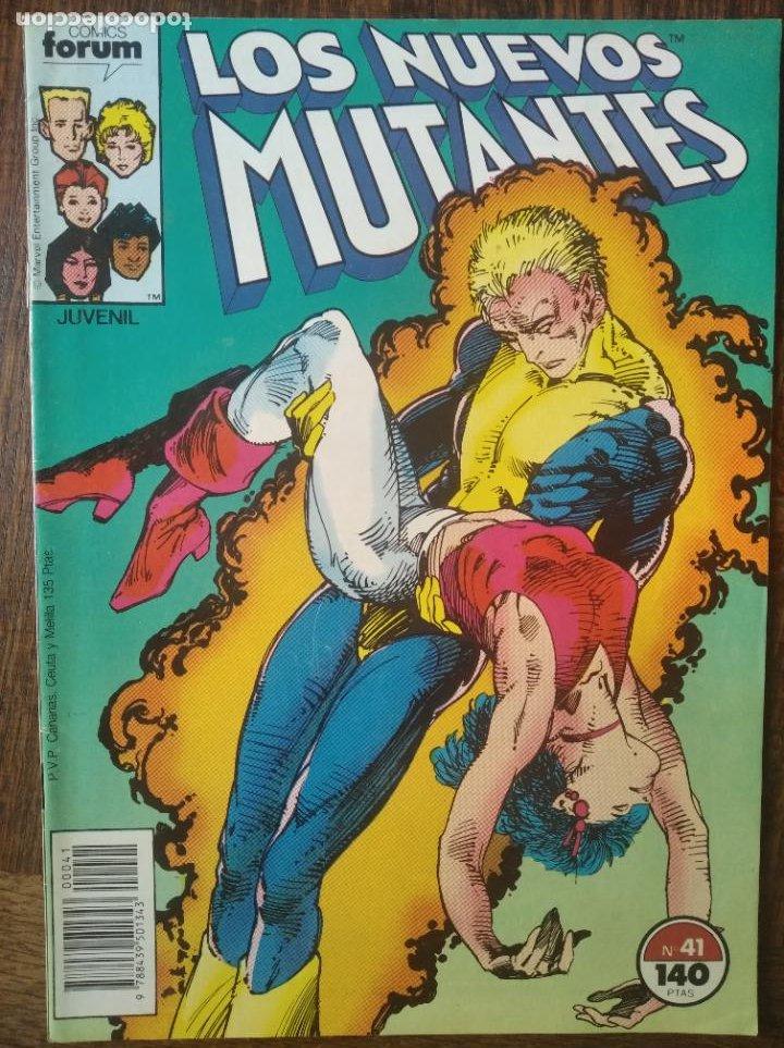 LOS NUEVOS MUTANTES V.1 Nº 41 - FORUM MARVEL COMICS - (Tebeos y Comics - Forum - Nuevos Mutantes)