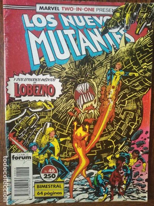 LOS NUEVOS MUTANTES V.1 Nº 46 - FORUM MARVEL COMICS - (Tebeos y Comics - Forum - Nuevos Mutantes)
