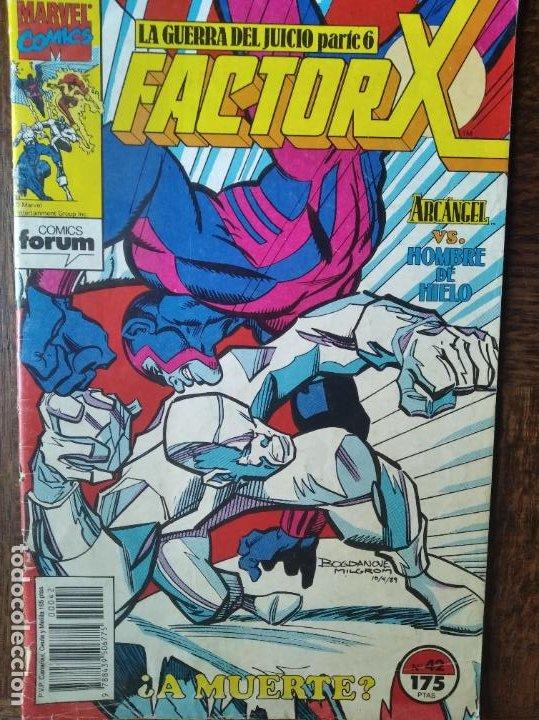FACTOR X - V.1 VOLUMEN 1 Nº 42 - FORUM (Tebeos y Comics - Forum - Factor X)