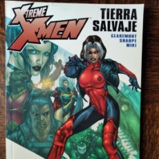 Cómics: X-TREME X-MEN TOMO: LA TIERRA SALVAJE - CLAREMONT/ SHARPE - FORUM. Lote 262208380