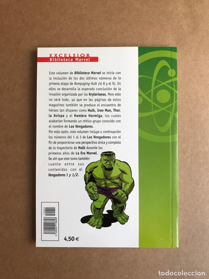 Cómics: Biblioteca Marvel Hulk tomo 4 - Perfecto estado - Foto 2 - 262214590