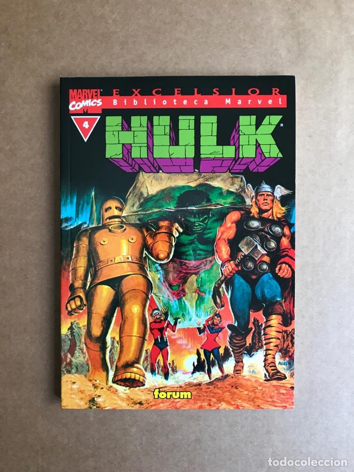 BIBLIOTECA MARVEL HULK TOMO 4 - PERFECTO ESTADO (Tebeos y Comics - Forum - Hulk)