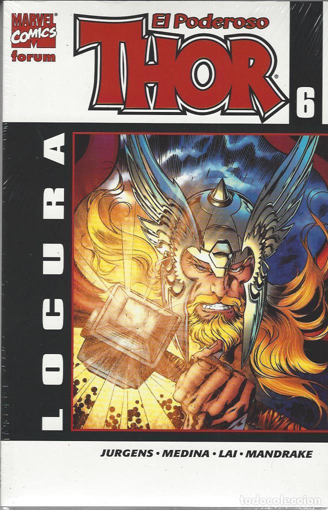 THOR VOLUMEN 5 - ETAPA FORUM COMPLETA - 6 TOMOS - PERFECTO ESTADO !! (Tebeos y Comics - Forum - Thor)