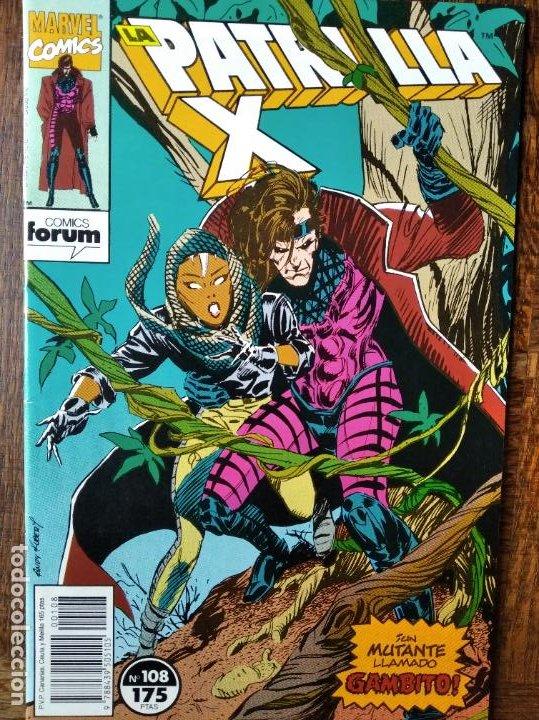 PATRULLA X V.1 Nº 108 - MARVEL COMICS FORUM. (Tebeos y Comics - Forum - Patrulla X)
