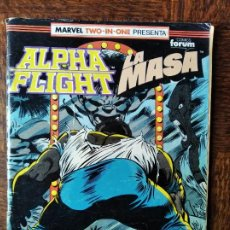 Cómics: ALPHA FLIGHT & LA MASA V.1 Nº 54 - FORUM MARVEL TWO-IN-ONE. HULK. Lote 262237425