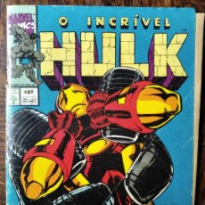 Cómics: O INCRIVEL HULK - COMIC BRASILEÑO CON HILK, HULKA E IRON-MAN - COMIC EN PORTUGUES.. Lote 262237675