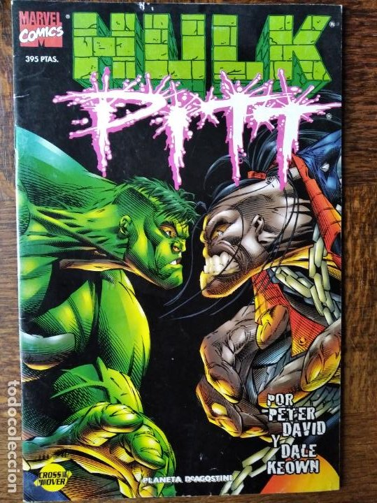 HULK VS PITT - PETER DAVID/ DALE KEOWN- NUMERO ESPECIAL- FORUM (Tebeos y Comics - Forum - Hulk)