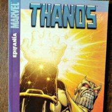Cómics: THANOS, TOMO: EPIFANIA - JIM STARLIN - PANINI MARVEL COMICS.. Lote 262239765