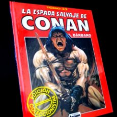Comics: PRECINTADO LA ESPADA SALVAJE DE CONAN TOMO 32 ROJO EDICION COLECCIONISTAS COMICS FORUM. Lote 262354140