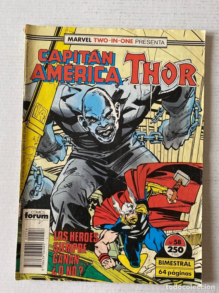 CAPITÁN AMERICA THOR #58 FORUM (Tebeos y Comics - Forum - Thor)