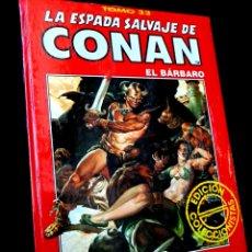 Comics: PRECINTADO LA ESPADA SALVAJE DE CONAN TOMO 33 ROJO EDICION COLECCIONISTAS COMICS FORUM. Lote 262372390