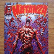 Cómics: MATANZA - LA VIDA ES MARAVILLOSA (SPIDERMAN) FORUM (SPIDER-MAN). Lote 262394475