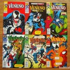 Cómics: VENENO - PROTECTOR LETAL Nº 1 AL 6 COLECCIÓN COMPLETA (1, 2, 3, 4, 5, 6) FORUM. Lote 262406060