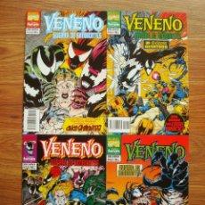 Cómics: VENENO - GUERRA DE SIMBIONTES Nº 1 AL 4 COLECCIÓN COMPLETA (1, 2, 3, 4) FORUM. Lote 262406300