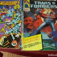 Cómics: 14 COMICS FORUM,10 VENGADORES Y 4 TRANSFORMER VER NUMEROS. Lote 262422090