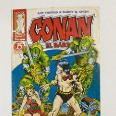 Comics: CONAN EL BÁRBARO. Nº 8.- LOS GUARDIANES DE LA CRIPTA. 15 AÑOS FORUM.. Lote 262434120