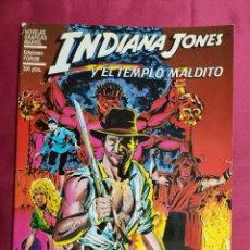 Comics : INDIANA JONES Y EL TEMPLO MALDITO. NOVELAS GRAFICAS MARVEL . FORUM. 1984.. Lote 262464150
