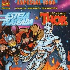 Cómics: ESTELA PLATEADA & THOR ESPECIAL 1999 - FORUM - MUY BUEN ESTADO. Lote 262512330