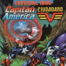 Cómics: CAPITAN AMERICA / CIUDADANO V ESPECIAL 1999 - FORUM - MUY BUEN ESTADO. Lote 262513050