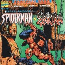 Cómics: PETER PARKER SPIDERMAN & ELEKTRA ESPECIAL 1999 - FORUM - MUY BUEN ESTADO. Lote 262513550