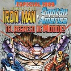 Cómics: IRON MAN Y CAPITAN AMERICA EL REGRESO DE MODOK ESPECIAL 1999 - FORUM - MUY BUEN ESTADO. Lote 262513785
