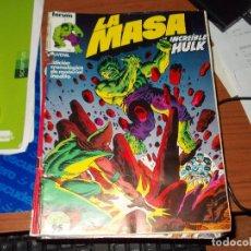 Cómics: LA MASA (HULK). VOL-1 Nº 7. FORUM. Lote 262532705
