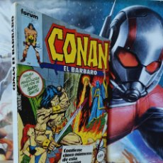 Cómics: CASI EXCELENTE ESTADO CONAN 71 AL 75 RETAPADO CÓMICS FORUM. Lote 262546790