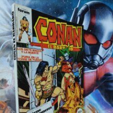 Cómics: EXCELENTE ESTADO CONAN 86 AL 90 RETAPADO CÓMICS MARVEL FORUM. Lote 262550120
