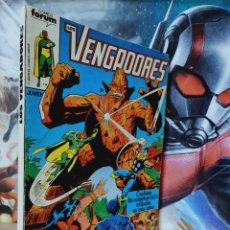 Cómics: MUY BUEN ESTADO LOS VENGADORES 6 AL 10 RETAPADO CÓMICS MARVEL FORUM. Lote 262551645