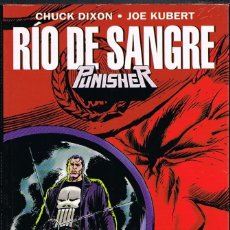 Comics: PUNISHER RIO DE SANGRE POR CHUCK DIXON Y JOE KUBERT. Lote 262551840