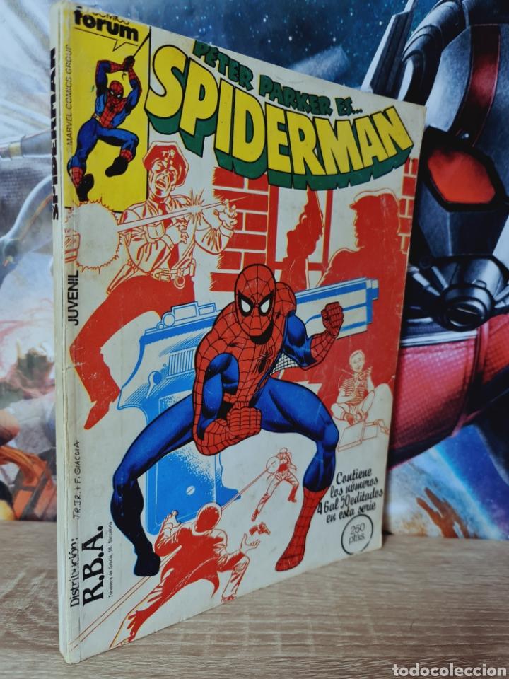 BUEN ESTADO SPIDERMAN 46 AL 50 RETAPADO CÓMICS MARVEL FORUM (Tebeos y Comics - Forum - Retapados)