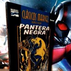 Cómics: DE KIOSCO PANTERA NEGRA 2 CLASICOS MARVEL EDICIONES CÓMICS FORUM. Lote 262561670