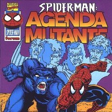 Cómics: SPIDERMAN: AGENDA MUTANTE - TOMO FORUM.. Lote 262567825