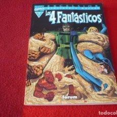 Cómics: LOS 4 FANTASTICOS Nº 7 BIBLIOTECA MARVEL ( STAN LEE KIRBY ) ¡MUY BUEN ESTADO! FORUM. Lote 262579630