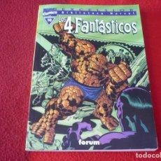 Cómics: LOS 4 FANTASTICOS Nº 10 BIBLIOTECA MARVEL ( STAN LEE KIRBY ) ¡MUY BUEN ESTADO! FORUM. Lote 262579645