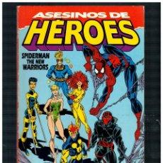 Cómics: ASESINOS DE HÉROES. SPIDERMAN THE NEW WARRIORS.FORUM EXTRA INVIERNO.. Lote 262616250