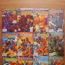 Cómics: LOS 4 FANTÁSTICOS VOL. 2 HEROES REBORN Nº 1 AL 12 COLECCIÓN COMPLETA (FORUM). Lote 262621000