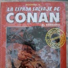 Cómics: LA ESPADA SALVAJE DE CONAN EL BARBARO - EDICIÓN COLECCIONISTAS - TOMO 3. Lote 262637680