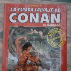Cómics: LA ESPADA SALVAJE DE CONAN EL BARBARO - EDICIÓN COLECCIONISTAS - TOMO 4. Lote 262637750
