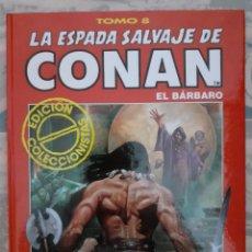 Cómics: LA ESPADA SALVAJE DE CONAN EL BARBARO - EDICIÓN COLECCIONISTAS - TOMO 8. Lote 262637865
