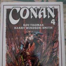 Cómics: CONAN Nº 4 - COLECCIÓN ROY THOMAS Y BARRY WINDSOR-SMITH. Lote 262638090