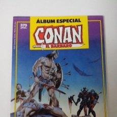 Cómics: ALBUM ESPECIAL CONAN EL BARBARO CON DOS NUMEROS EXTRA ESPECIAL PRIMAVERA. Lote 262646090