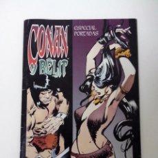 Cómics: CONAN Y BELIT ESPECIAL PORTADAS COMO NUEVO. Lote 262646290