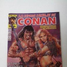 Cómics: SERIE ORO LA ESPADA SALVAJE DE CONAN Nº 171 Nº ESPECIAL SALON DEL COMIC DE BARCELONA. Lote 262646535
